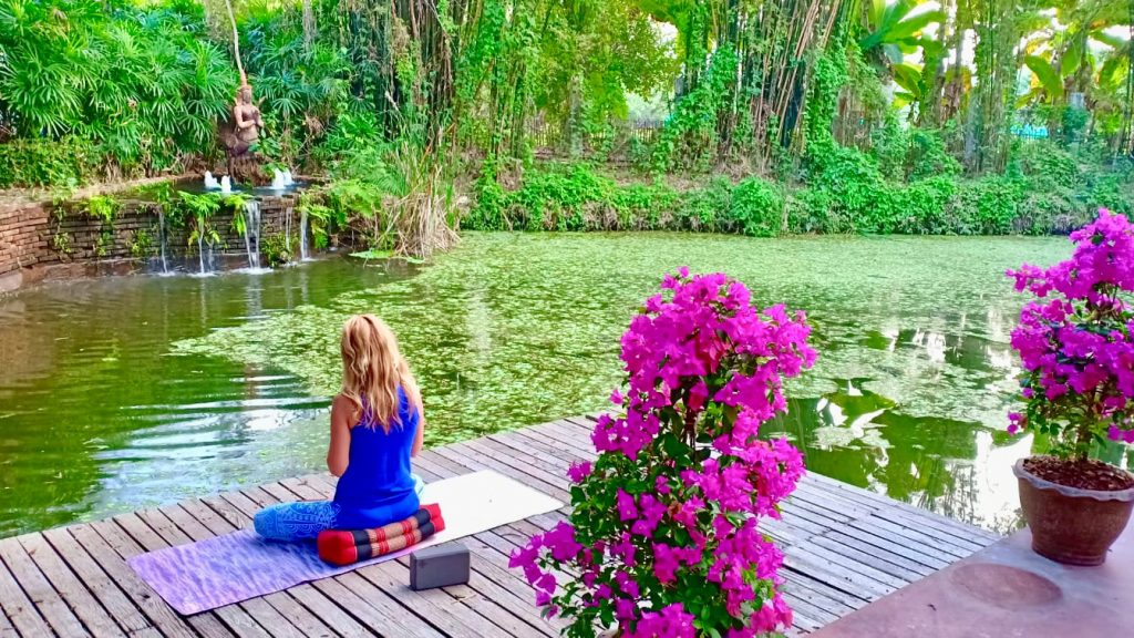 Amanda at the Pond