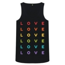 All you need is love vest top