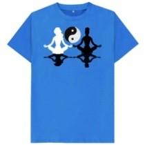 yin yang yoga girls t-shirt