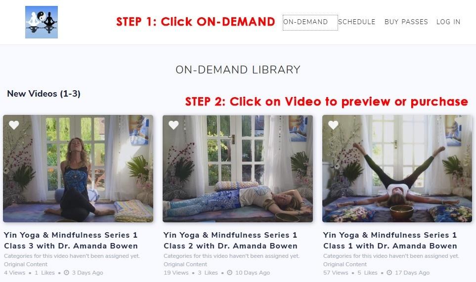 On Demand Yoga Classes
